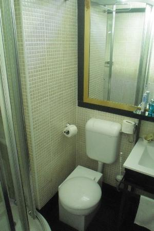 Royal Hotel: Small bathroom