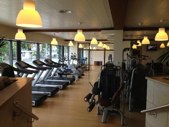 Fairmont Le Montreux Palace: Gym Area