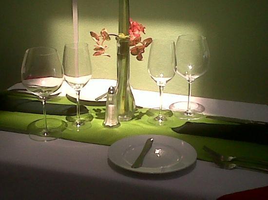 Intimate table at Ristorante Corallo