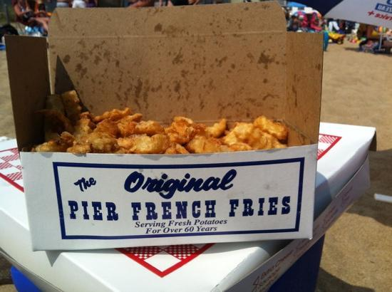 Pier French Fries: Excellent!! :)