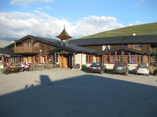 Raubergstulen: Front entrance