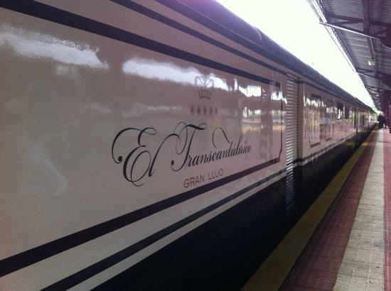 Transcantábrico: The GranLujo version of the train