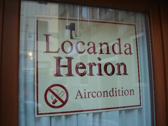 Locanda Herion: Hotel ensign