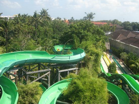 Waterbom Bali: Mooie waterglijbanen