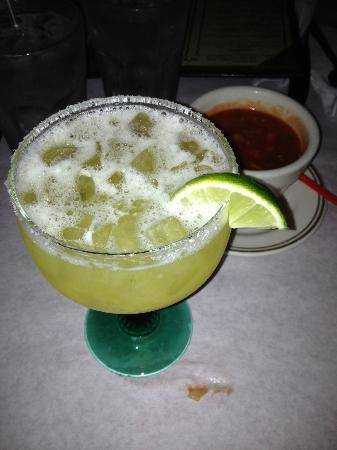Rubens Mexican Cafe: Slightly sweet 1800 Margarita, $8