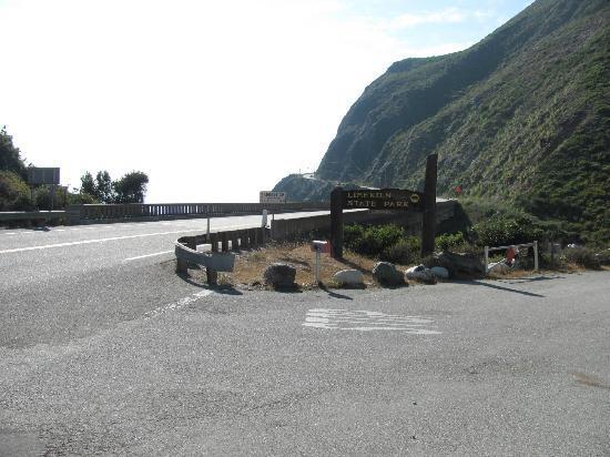 Limekiln State Park: Park entrance