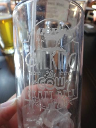 The Spotted Cow: Milking Glass