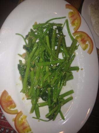 Vietnam Home Restaurant Mui Ne: Vegetable with garlic