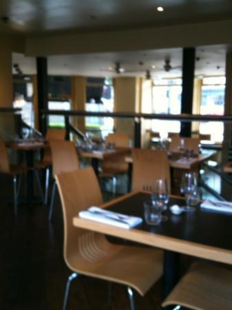 The Brasserie on St John Street : sad to be the only customers