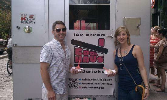 Sidewalks of NY Food Truck Tours: Last Stop: Dessert from CoolHaus