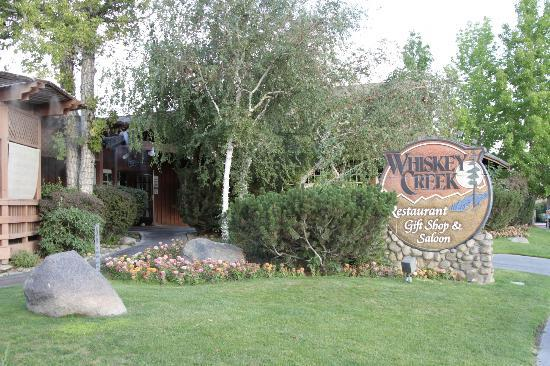 Whiskey Creek Restaurant : View from the main street