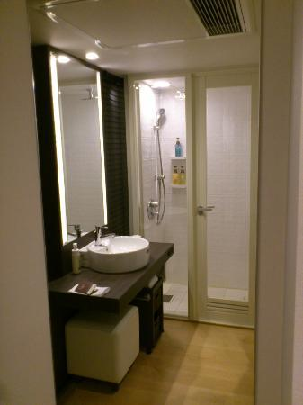 Mitsui Garden Hotel Yotsuya: Shower Stall