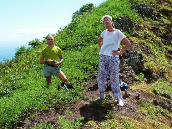 Pension Pukuee: Jérome, notre hôte et guide à Ua Pou.