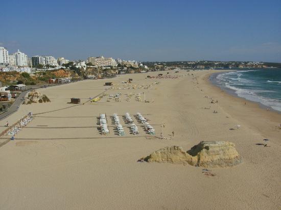 Praia Da Rocha: Main beach