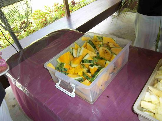 MARDI Langkawi Agro Technology Park : some of the fruit offered