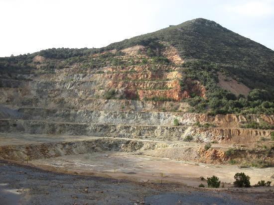 Parco Minerario dell'Isola d'Elba: la cava