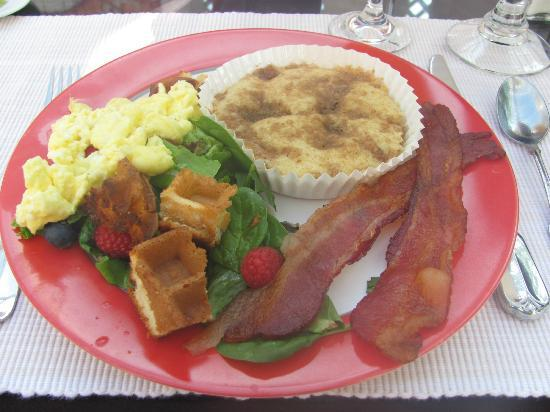 The Mission Inn: One of Leslie's amazing breakfasts