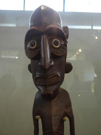Museo Antropológico P. Sebastián Englert: Moai Kava Kava
