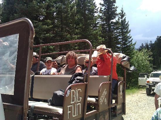 New Mexico Adventure Company : Bench seats