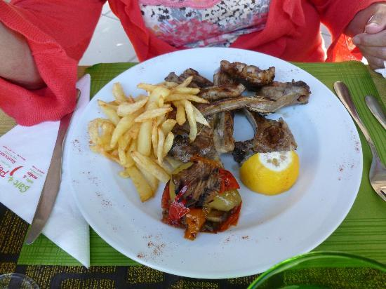 Salt and Pepper: The best lamb chops I have ever tasted