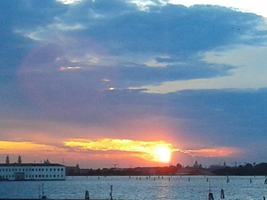 Vista dall'hotel Panorama ... Venezia