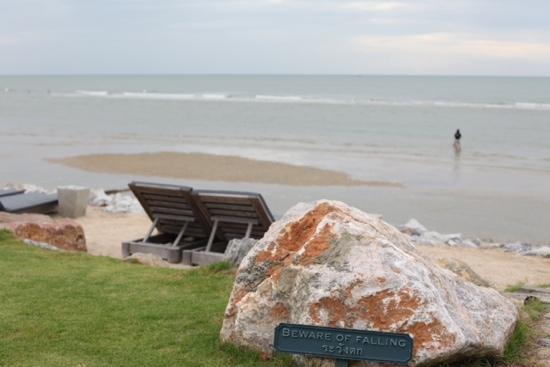 Devasom Hua Hin Resort: beachfront