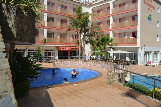Sumus Hotel Monteplaya : джакузи