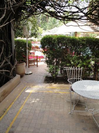Es Saadi Gardens & Resort: Private Patio