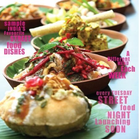 Bombay Palace: Street Food Night Lauching every Tuesdays See Website for more details