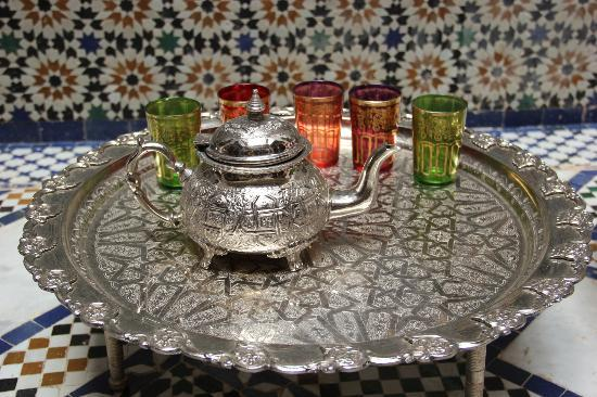 Riad Rcif: Mint tea