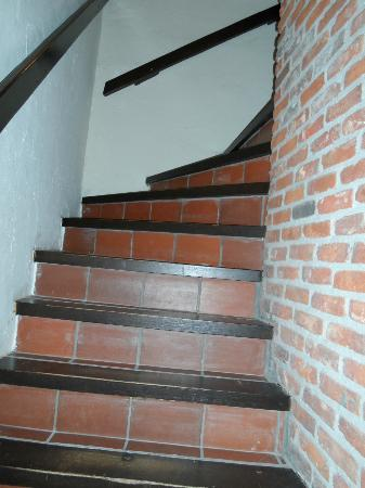 Hotel-Flats Leopold : Stairwell
