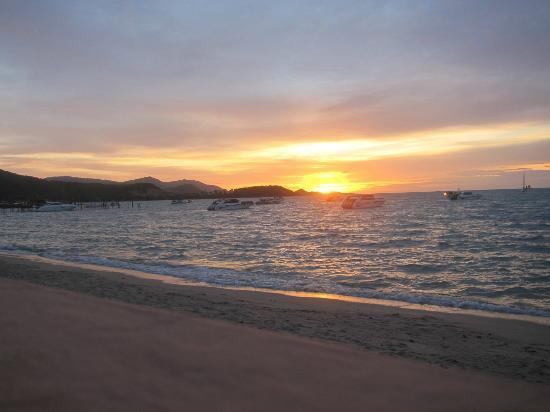 Samui Mermaid Resort: Ausblick Terasse