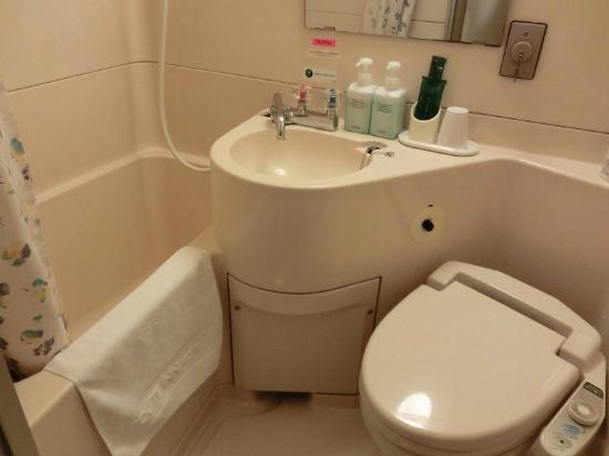 Route Inn Tokyo Toyocho: 浴室