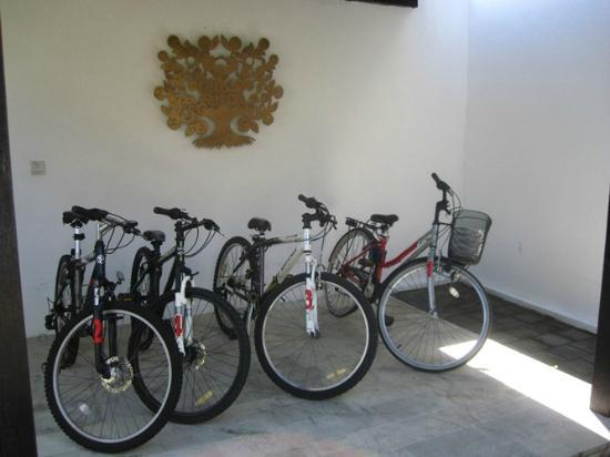 Anantara Vacation Club Bali Seminyak : Bicycle you can rent