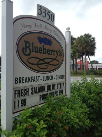 Photo of American Restaurant Blueberry's at 3350 Tamiami Trl N, Naples, FL 34103, United States