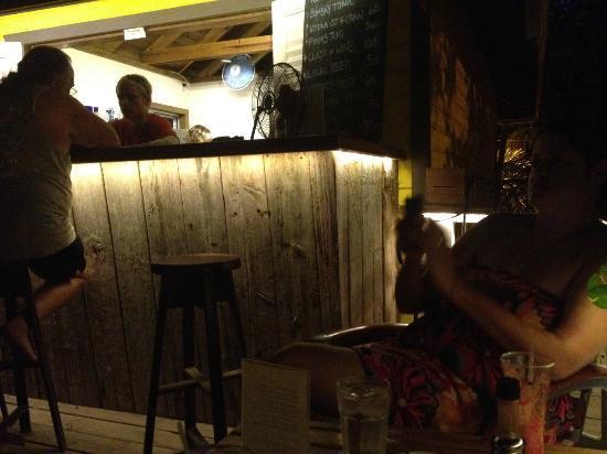 The Landing Restaurant & Bar: The bar :)