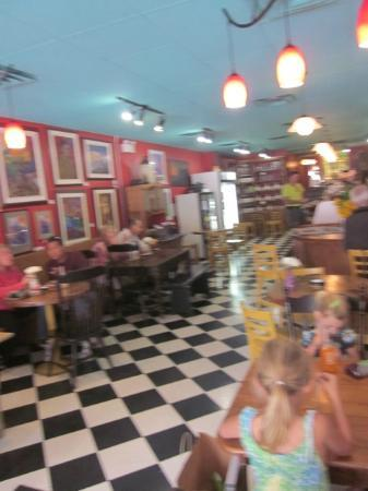 Apple Annie's Cafe - Inside Seating