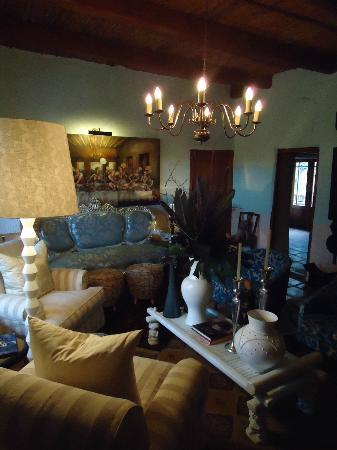 Augusta de Mist Country House: Lounge in Main House
