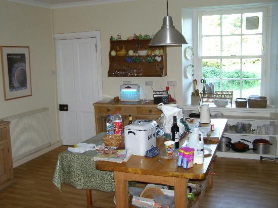 Seafield Farm Cottages: The kitchen