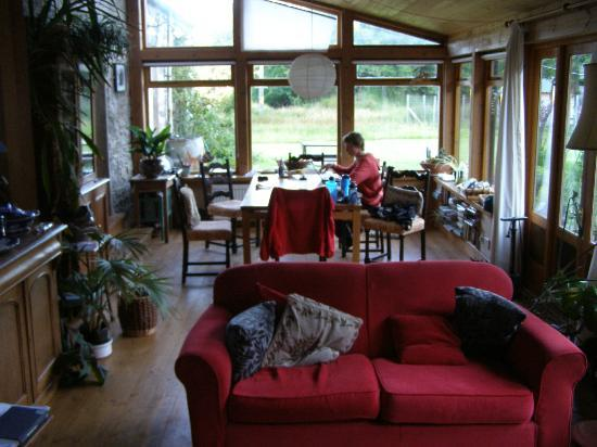 Seafield Farm Cottages: The sun room