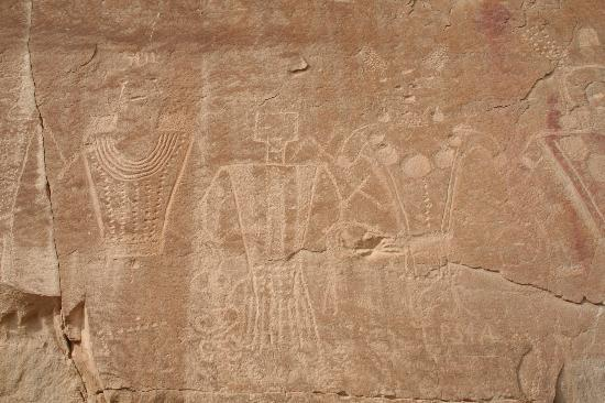 McConkie Ranch : Fremont petraglyphs