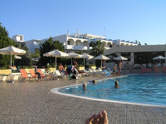 Evi Hotel Rhodes: Pool