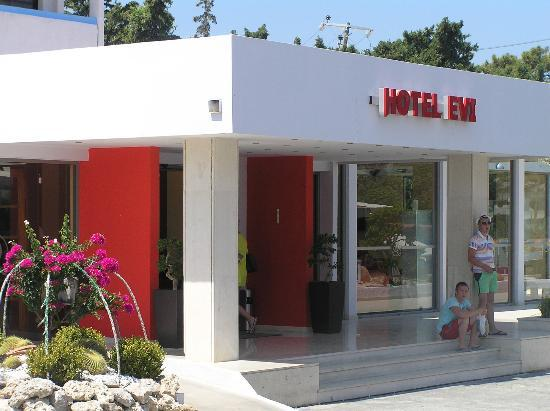 Evi Hotel Rhodes: Entrance
