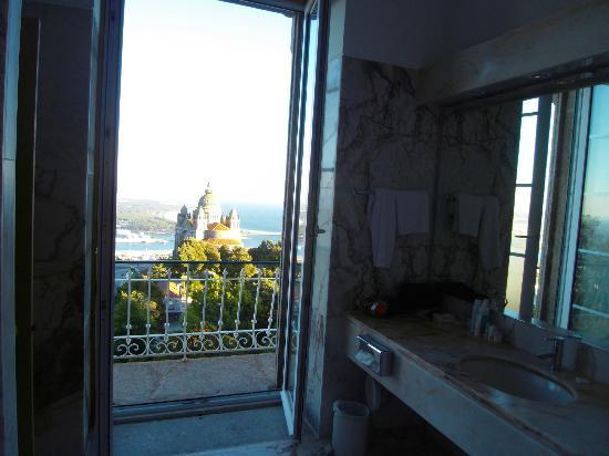Pousada De Viana Do Castelo Charming Hotel : vue depuis sdb