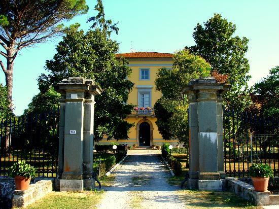 Villa Pardi Lucca: main house