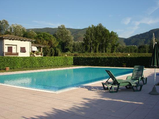 Villa Pardi Lucca: well maintained clean pool.