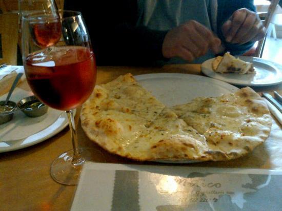 Mitico: Pizza Bianca