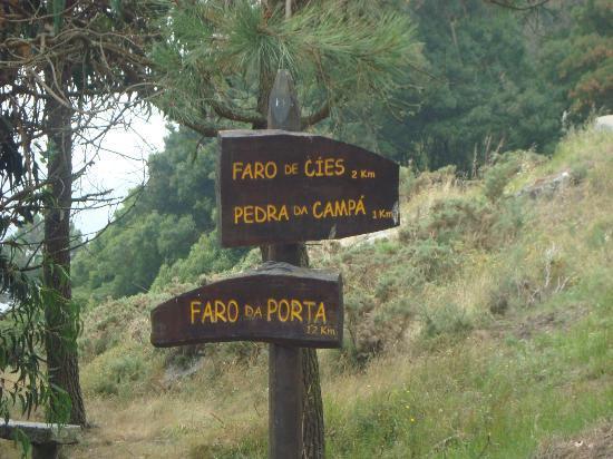 Camping Cies Islands: Comienzo de las rutas