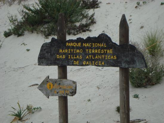 Camping Cies Islands: Indicador
