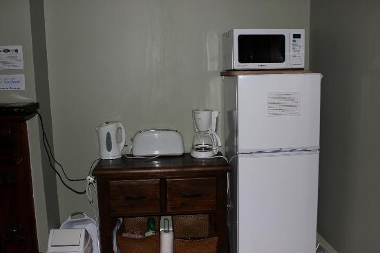 Barossa Dreams: Tea, brewed & instant coffee were supplied